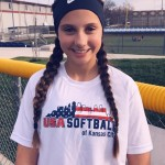 TALENT WAS RECOGNIZED here in Warsaw as Brylee Brewster received the honor of being selected to the USA Softball Region 7 12U All-American team. CONGRATS!