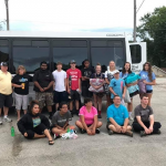 BUILDING RELATIONSHIPS and extending a helping hand, twelve IGNITE youth and their sponsors  visited the Lake Traverse Indian Reservation in South Dakota.