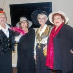 HELPING PROPEL the Warsaw Shrine Club forward are a contingent of ladies that include Sharon Brown, Sheila Buckallew, Pat Flinn and Bonnie Call.