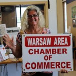 GIVING A HEARTY WELCOME to the Warsaw Area Chamber of Commerce office, Khristina Brovelli began her first week as Assistant to The Chamber Director on Monday.