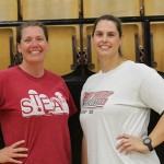 BOBBIE SWISHER AND CHARLOTTE BECK are the new WHS volleyball coaches. They are moving up from the middle school and they bring a wealth of experience and energy to a team that went winless last season. Coach  Beck is also new assistant girls basketball coach.