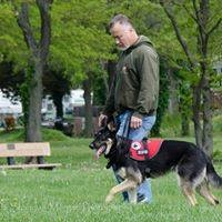 LEARNING THE DIFFERENCE between service dogs, emotional support dogs and therapy dogs, business owners gathered for a presentation by Tim Snider of Twin Lakes K-9 Academy
