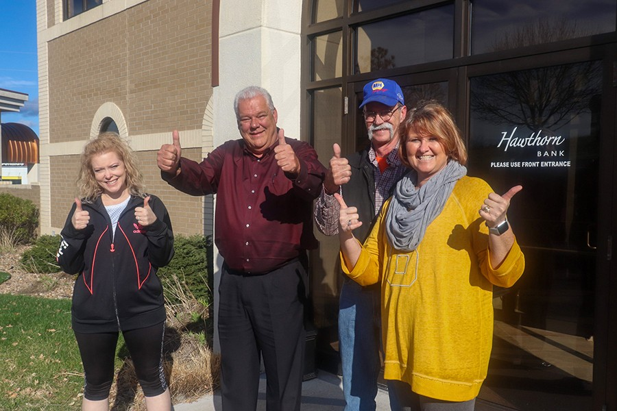 WARSAW JUBILEE DAYS Committee Members Crystal Bates,Chuck Allcorn, Doug Alden and Jessica Kendall announced that plans for this year's celebration are still on track. The much loved event is scheduled for June 5th through 6th.