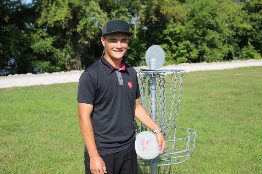 WHS SOPHOMORE, 15 year old Bradley Brown recently competed in the World's Disc Golf Championship held in Peoria, Kansas. He came in 9th in the amateur 18U class out of some 60 contestants from all over the world.