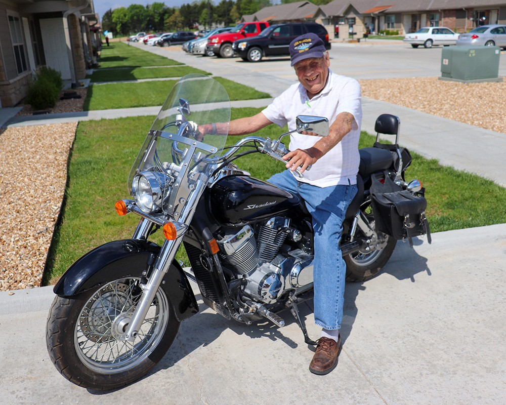SAVORING LIFE'S HIGHWAY, Warsaw resident Jerry Houchens is still going strong after having a heart transplant 29 years ago.