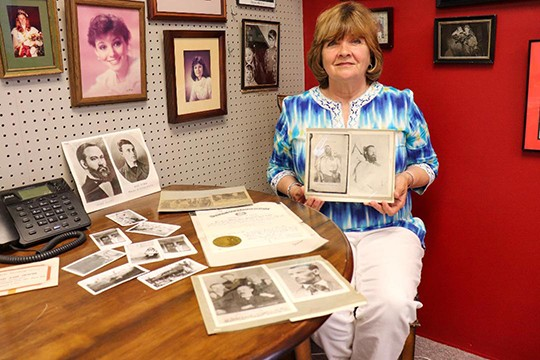 HISTORY BUFF Peggy Crabtree Berry is working to raise for new entry gates at Shiloh Cemetery.