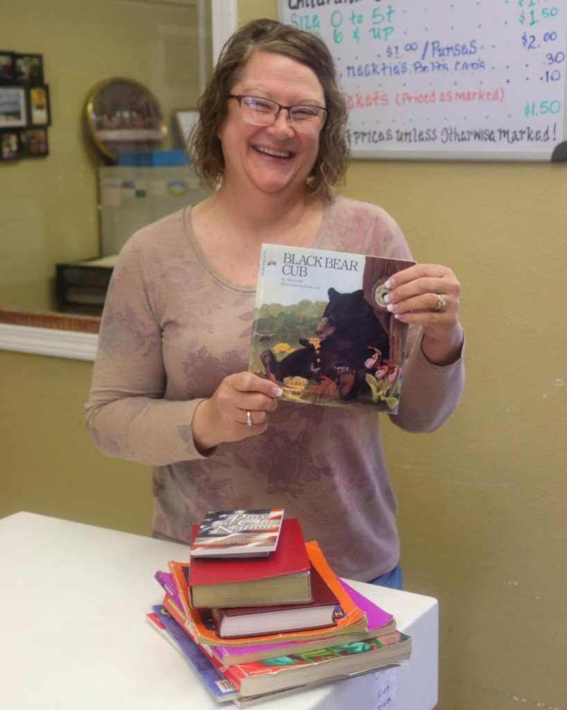 PUTTING BOOKS IN THE HANDS of area kids, the Warm House in Warsaw has partnered with the Imagination Library. The local part of the program is under the direction of Sue Stevens.