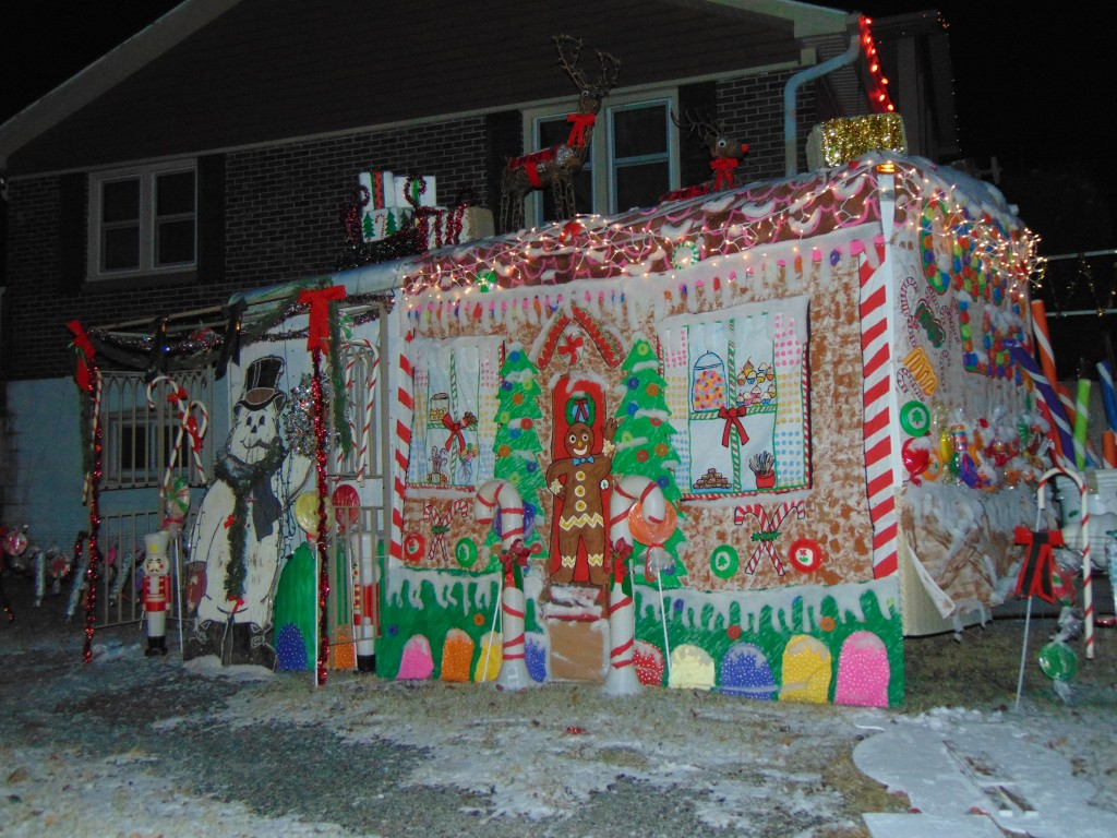 TOO EARLY FOR CHRISTMAS LIGHTS? BAH HUMBUG! This Warsaw home on Hawthorn Drive is festooned with a spectacular holiday display. Enterprise Staffer Tyler Simons noted that numerous people drove by to admire the scene when he took this photograph on Monday evening.
